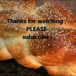 Homemade 6 Braid Challah Bread Recipe