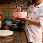 How To Make a Chocolate Strawberry Cake With Sharp Edges