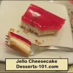 How To Make Jello Cheesecake (No Bake)
