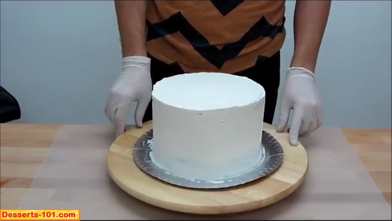 iced cake - How To Decorate A Cake