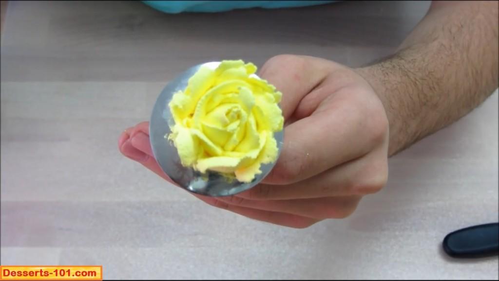 Buttercream Rose 3