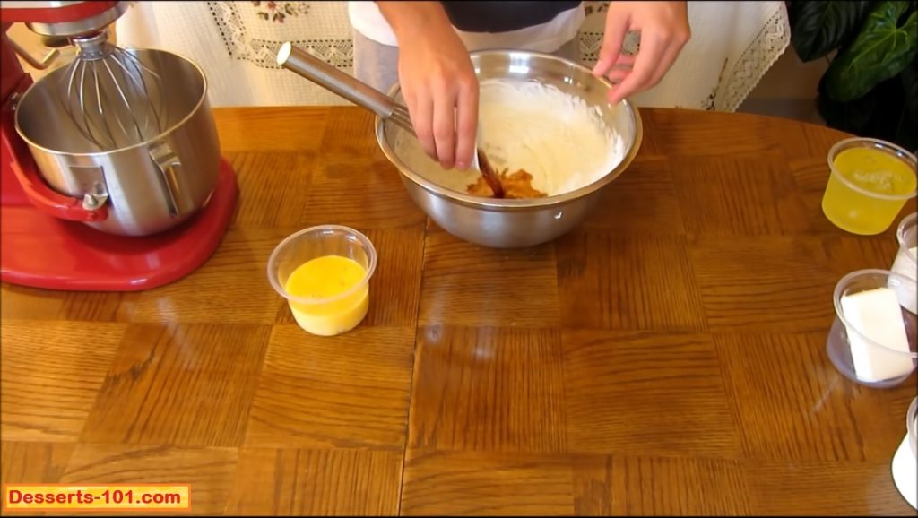 Add the vanilla extract.